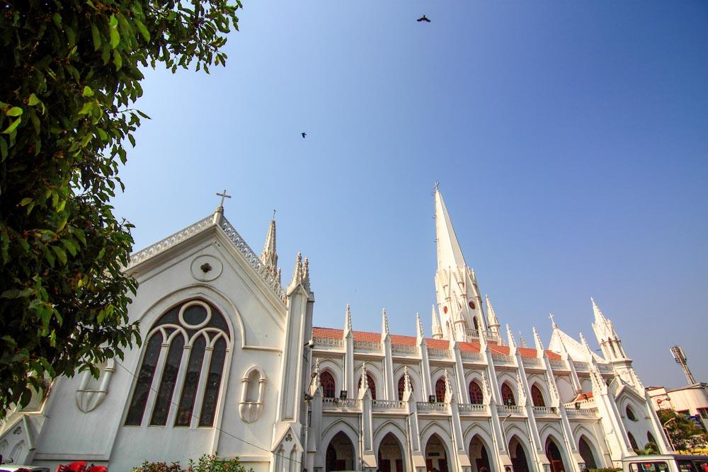 Santhome Basilica, Mylapore, Chennai