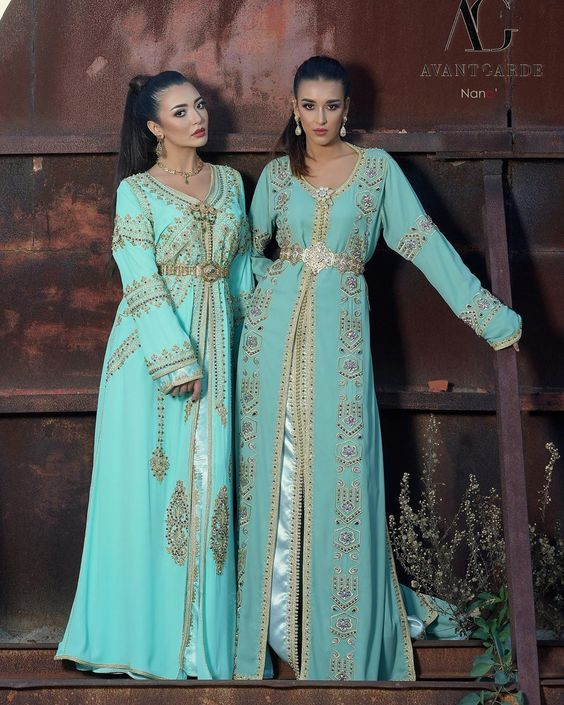 robe caftan moderne de mariée 2020 marseille lyon paris