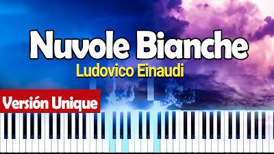 Ludovico Einaudi - Nuvole Bianche MIDI