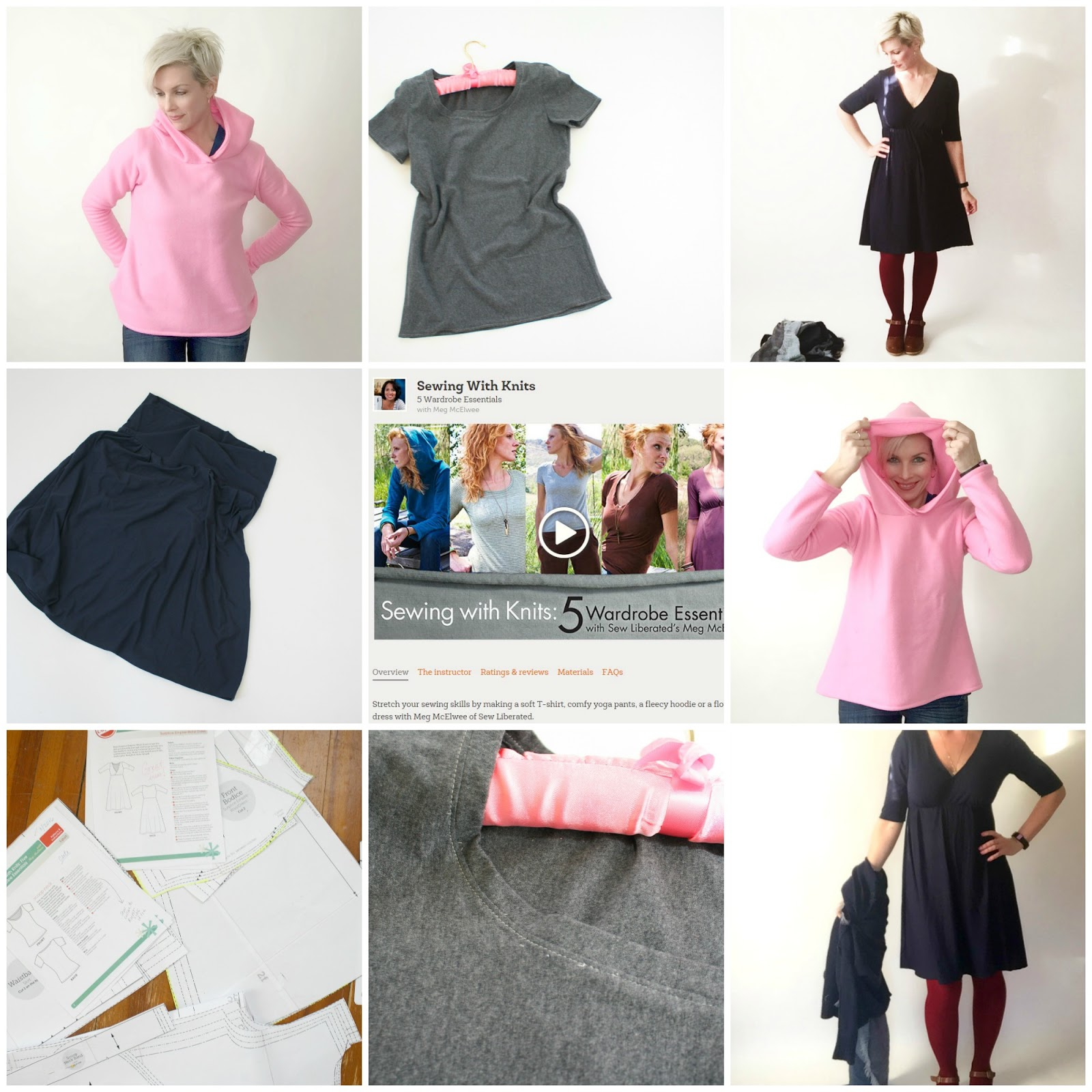 Craftsy Month - Sewing With Knits - Sew Sweetness