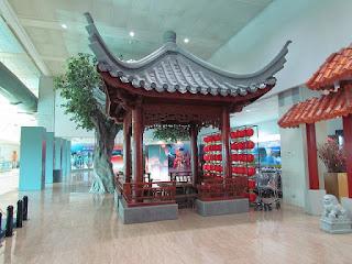Airport pagoda