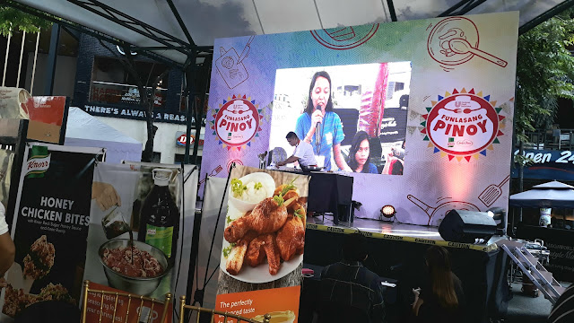 Last August 26, 2017, this blogger went to Eastwood Central Plaza. There is an event that started at 2 PM and it's all about - FOOD! Glorious food! It's Unilever Food Solutions Funlasang Pinoy Twist Fest!