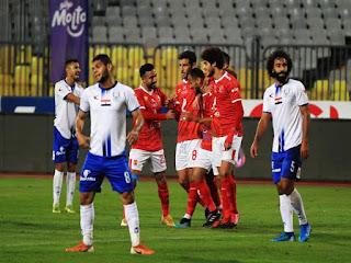 الأهلي يتغلب على أبو قير للأسمدة بهدفين مقابل هدف ويتأهل لنصف نهائي كأس مصر