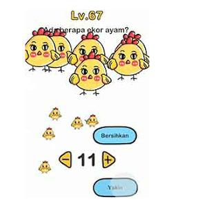 Ada berapa ekor ayam brain out , Ini jawaban yang benarnya