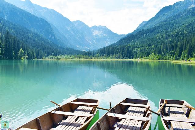 Lago Jägersee en Austria