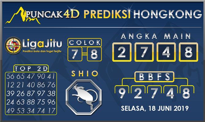 PREDIKSI TOGEL HONGKONG PUNCAK4D 18 JUNI 2019