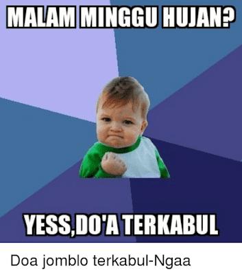 Meme Jomblo Malam Minggu