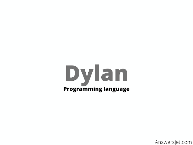 Dylan Programming Language: history, features, application, Why learn?