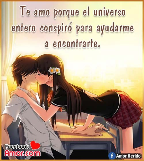 anime enamorado amor