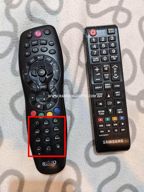 Cara Kawal TV Dan Astro Hanya Menggunakan Remote Astro.