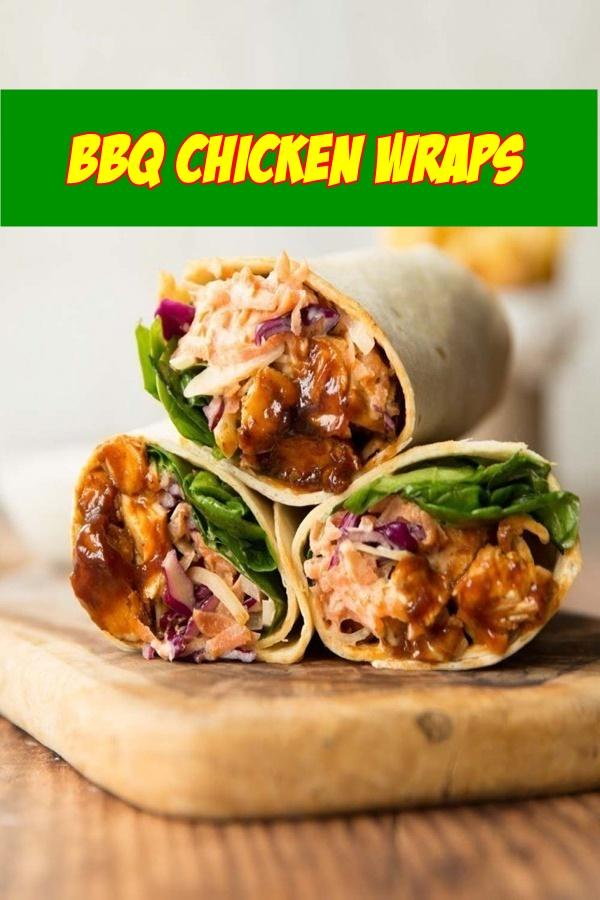 #BBQ #Chicken #Wraps