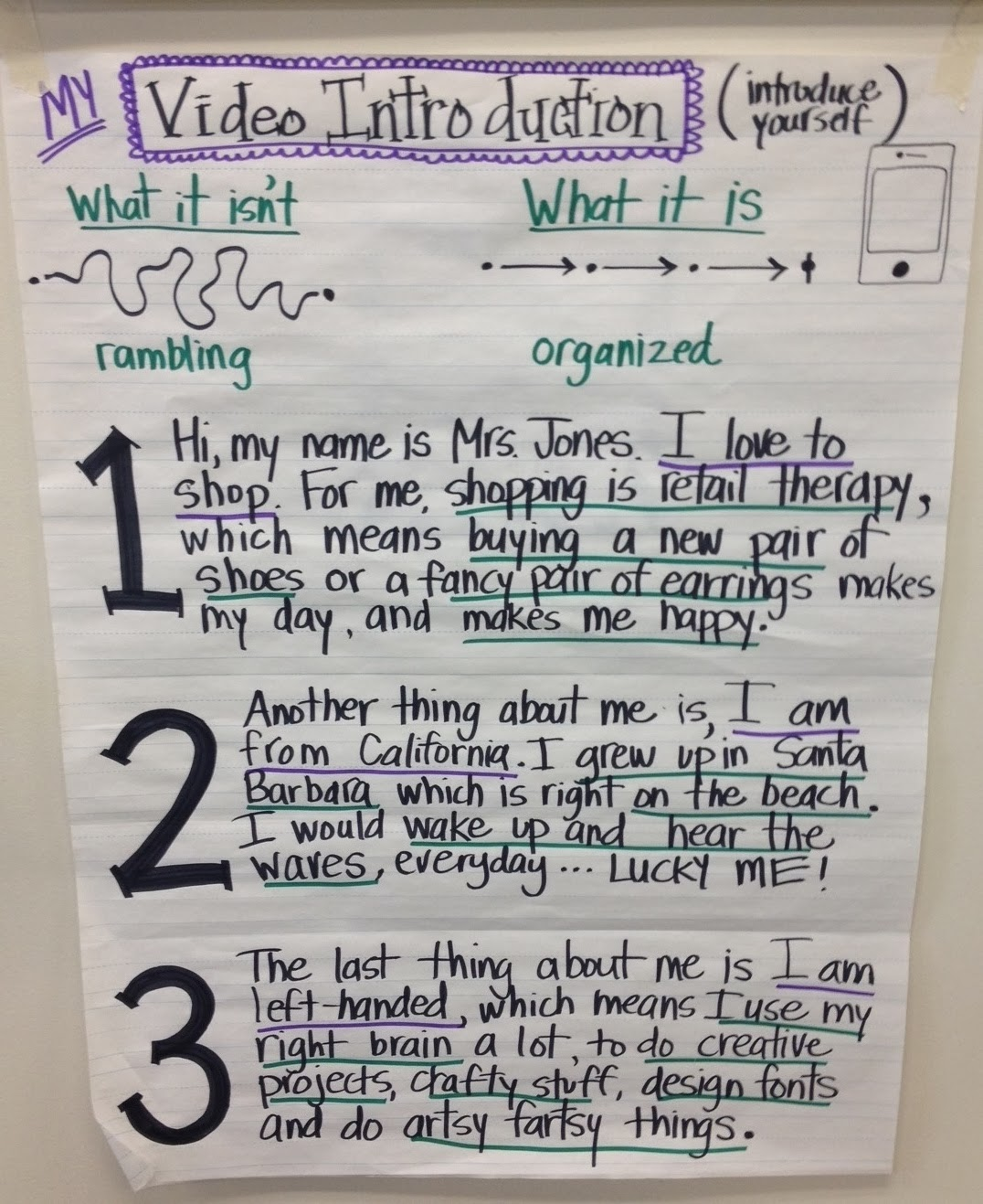 Funny Child Introduction Letter To Teacher