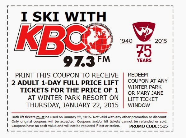 lift ticket coupons winter park