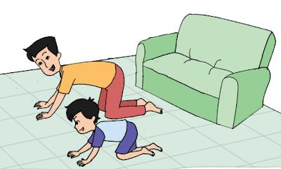 Pengalaman Beni dan ayahnya bermain di rumah www.simplenews.me