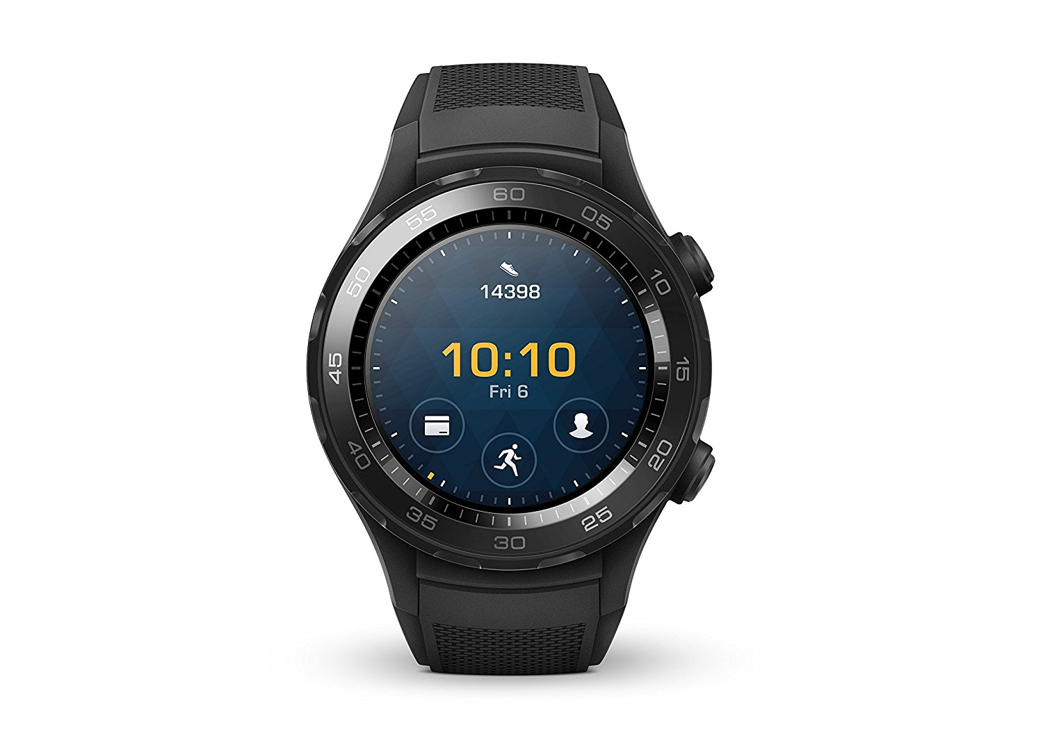 Huawei Watch 2 Smartwatch, 4 GB ROM, Android Wear, Bluetooth, Wifi