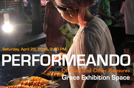 PERFORMEANDO at Grace Exhibition Space on 04/25/2015