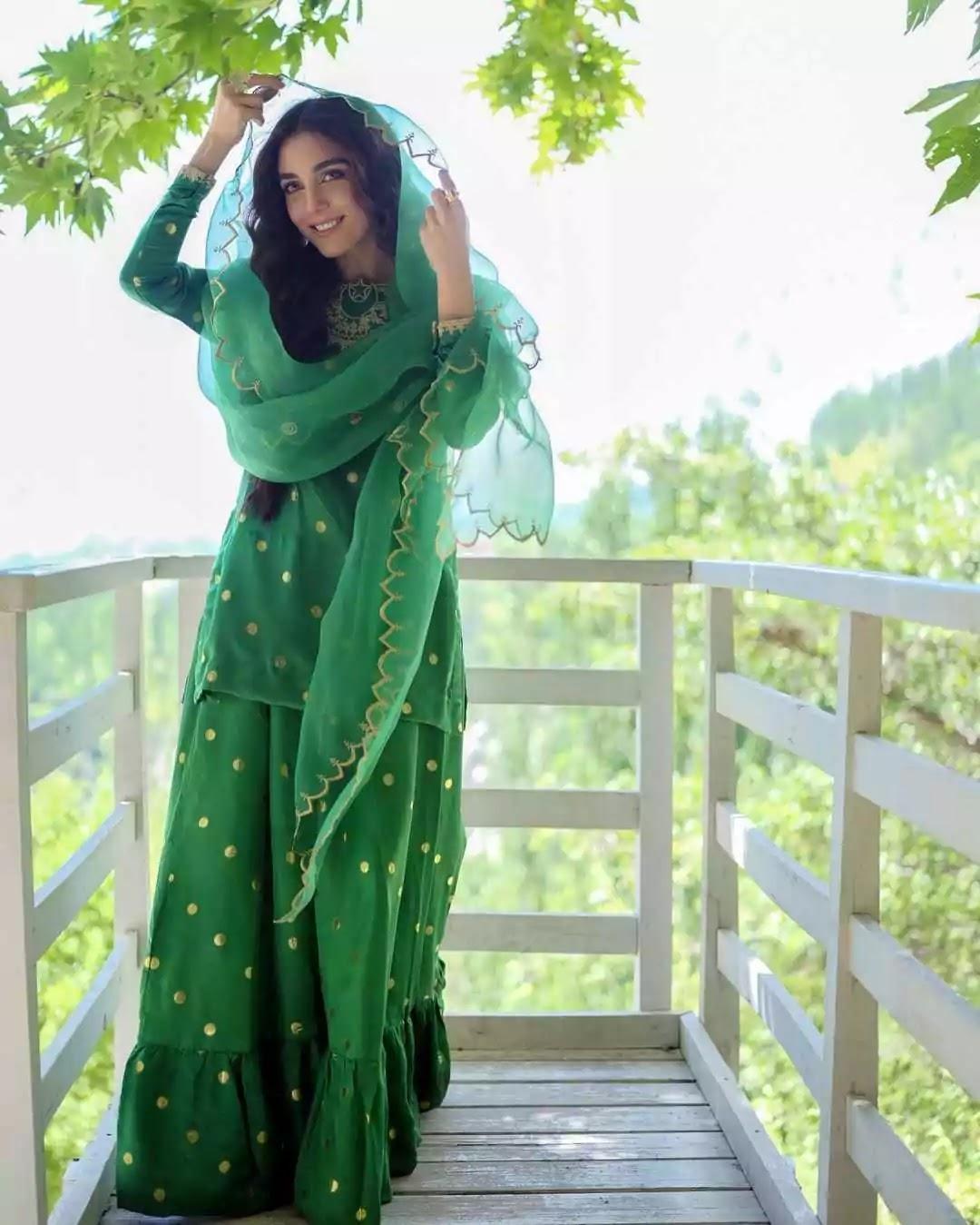 In Pics: Maya Ali celebrates Pakistan's 75th Independence Day