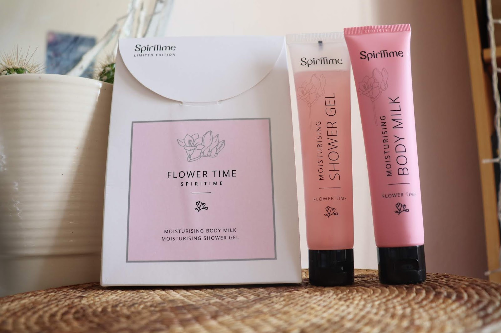 FLOWER TIME - SPIRITIME | BODY MILK & SHOWER GEL