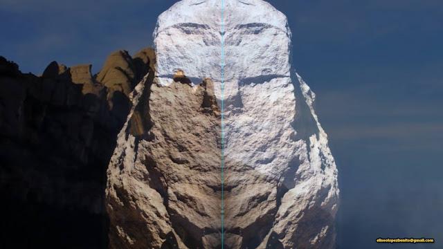 Arquitectura Ciclópea, Arte Megalítico, Civilización Madre, Deidad Barbada de Montserrat, Eliseo López Benito, Montaña de Montserrat, Mother civilization,