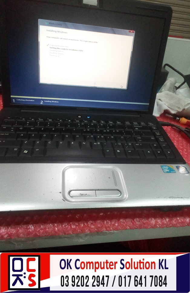 [SOLVED] HP COMPAQ CANNOT REACH WINDOWS | REPAIR LAPTOP CHERAS 4
