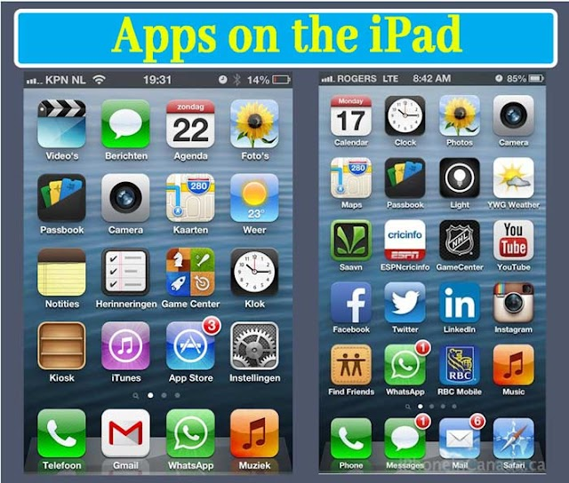 How to check which apps you use on the iPad