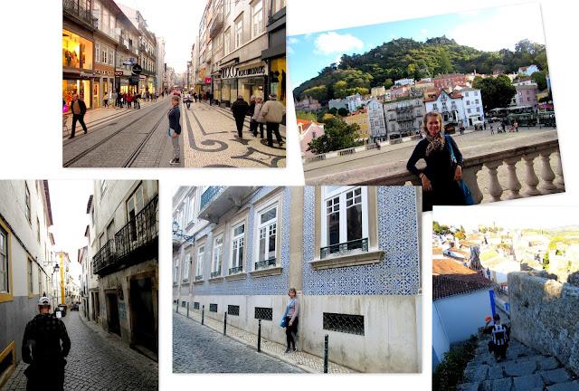 Cidades portuguesas: Porto, Sintra, Évora, Lisboa, Óbidos