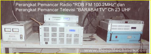 RDB FM 100.2MHz - BARABAI TV Ch 23 (UHF)