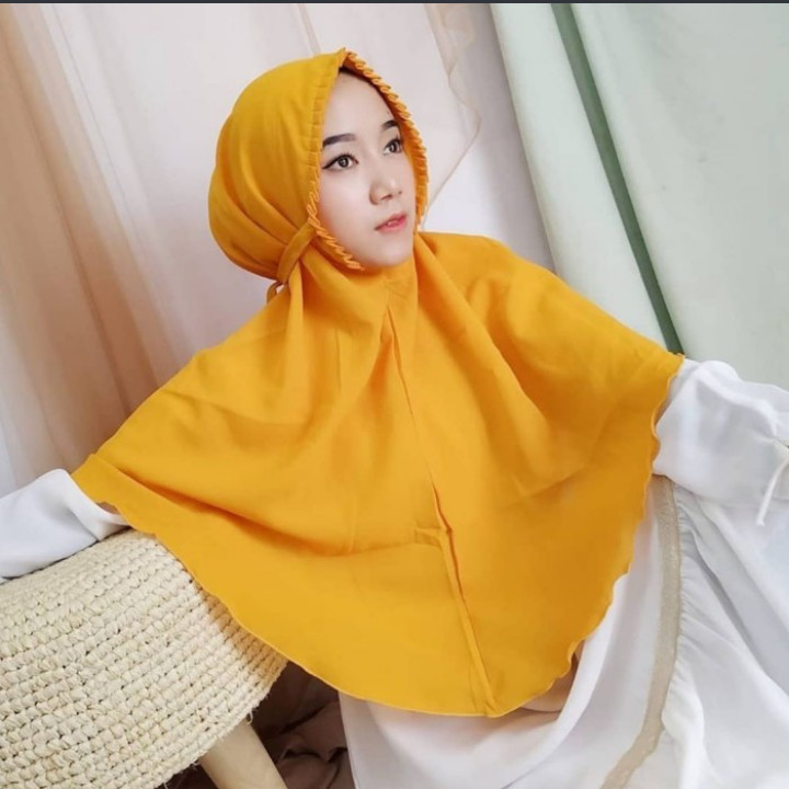 Jilbab Instan Bergo Maryam Lipit Diamond