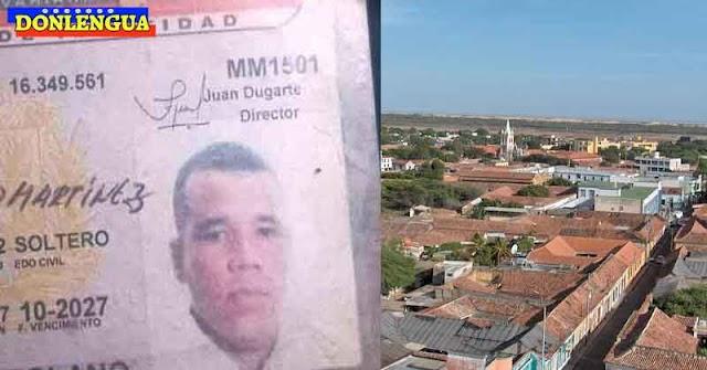 Delincuente acribillado cerca de su casa en Falcón
