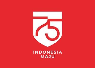 Download Logo HUT Kemerdekaan RI ke 75 Tahun 2020