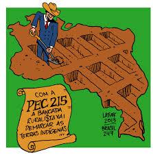 PEC 215 - TERRAS INDÍGENAS E CHARGES DE CARLOS LATUFF