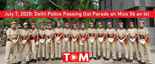 Mizo thalai Delhi Police a tel