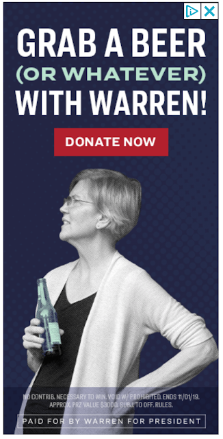 Grab a beer (or whatever) with Warren!
