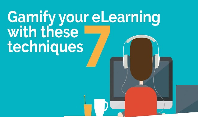 Gamify Your eLearning With These 7 Techniques #infographic