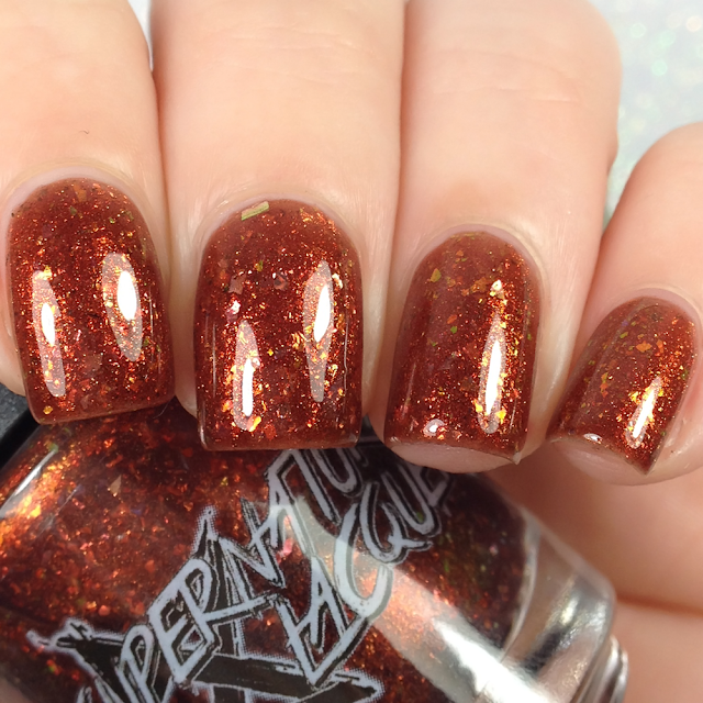 Supernatural Lacquer-Sauntered Vaguely Downwards