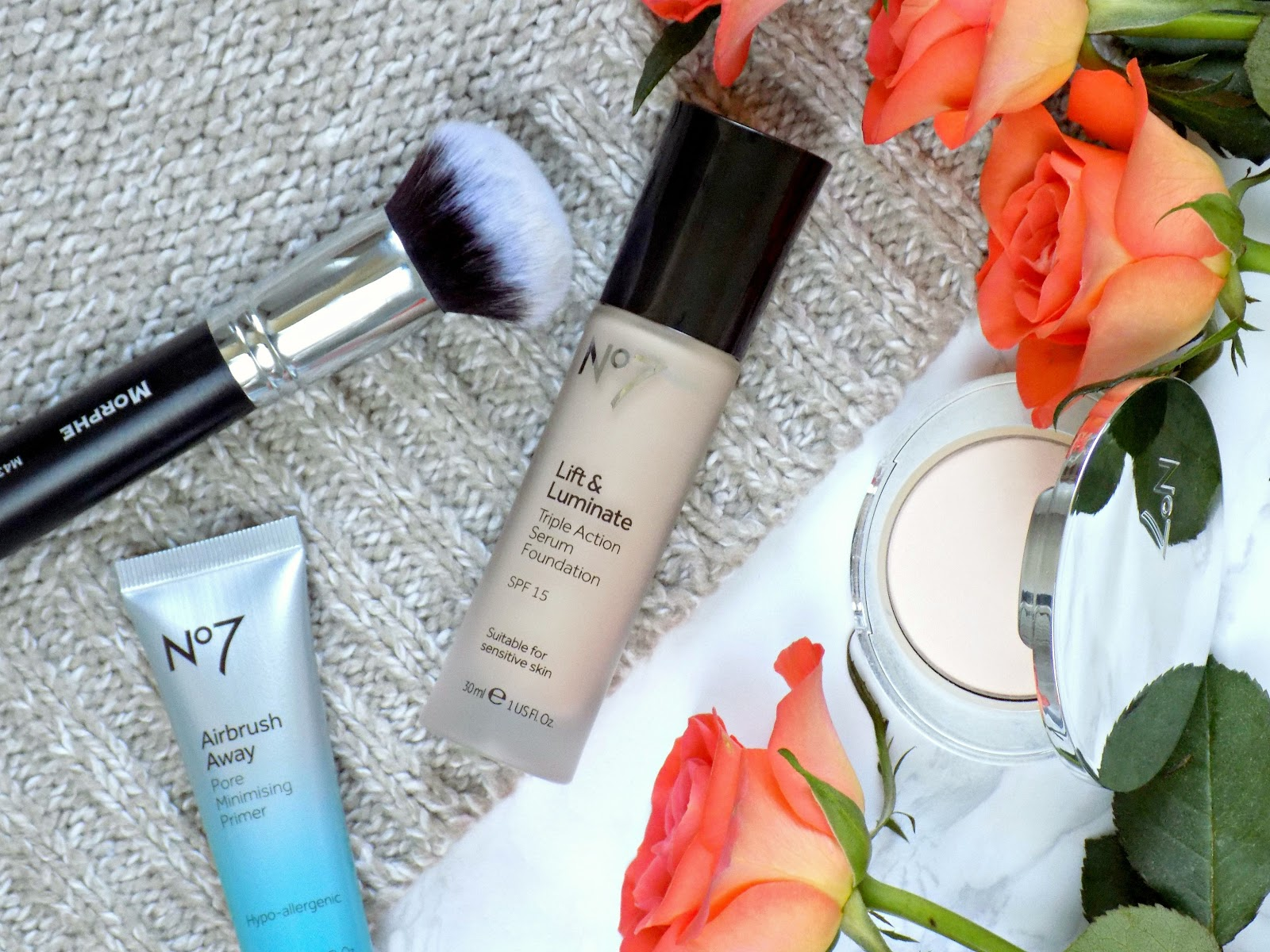 No7 Lift & Luminate Triple Action Serum Foundation