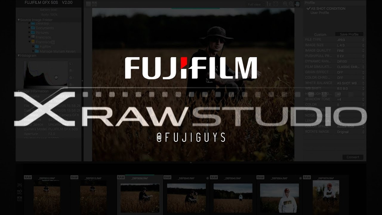 Fujifilm X Raw Studio Installer Software Download