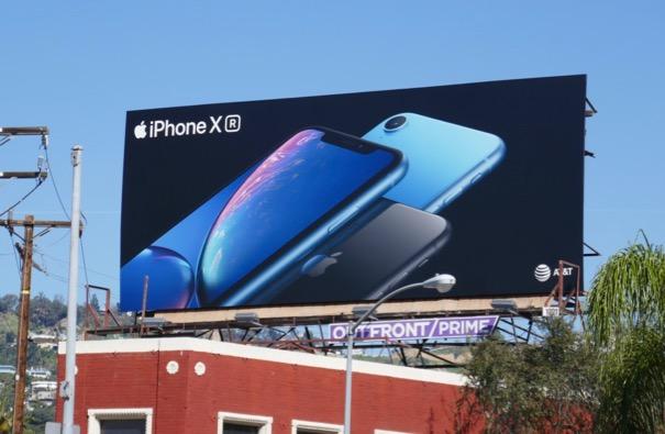 Apple iPhone XR 2019 billboard