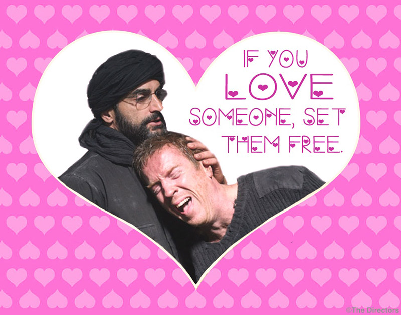 Homeland Valentine's Day Cards