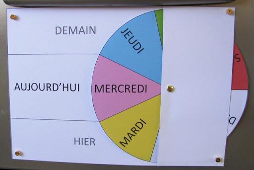 لعبة لتعلم ايام الاسبوع بالفرنسية