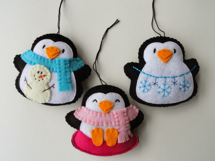 Поделки из Фетра / Felt Crafts Toys. DIY ideas for home decor