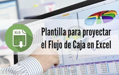 Plantilla para proyectar el Flujo de Caja en Excel