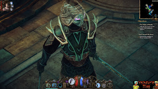 Close-up screenshot of an Umbralist character from Van Helsing
