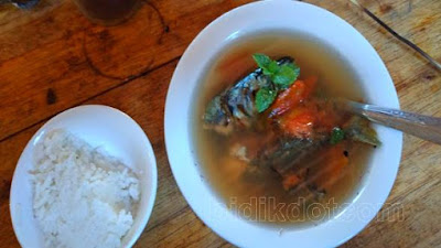 Kuah Sasi  Sup Ikan Bakar Berkhasiat Asal Nusa Utara Mulai di Lupakan
