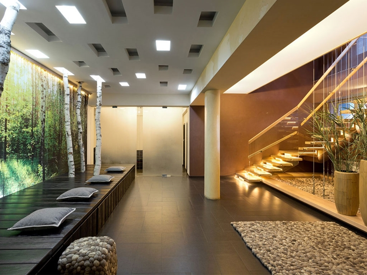 Modern entrance lobby in Modern house by Yakusha Design