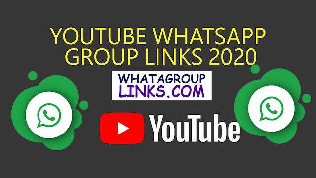 YouTube Whatsapp Group links 2020
