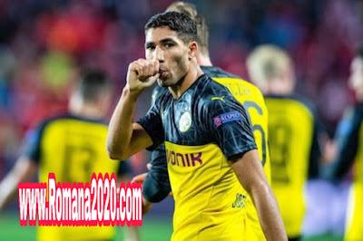 أربعة أسباب تدفع أشرف حكيمي hakimi إلى الاستمرار مع بروسيا  دورتموند borussia dortmund ورفض ريال مدريد real madrid