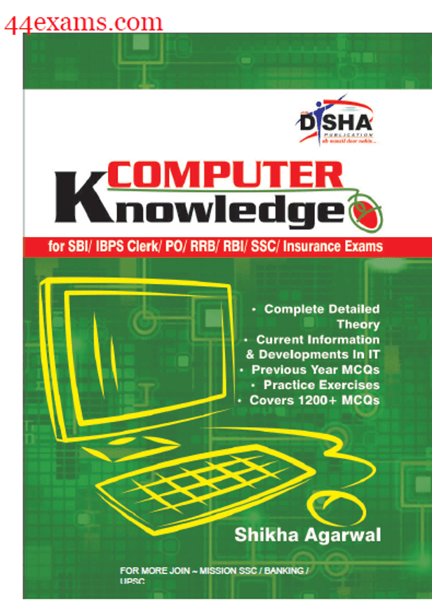 Computer Knowledge By Disha Publication : For All