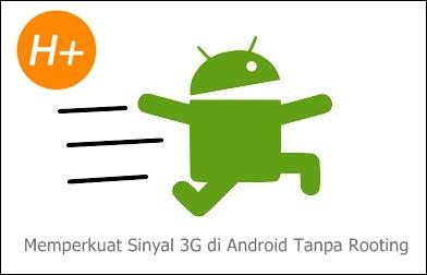 Jaringan 3G di Android