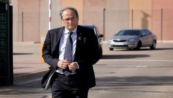 Tribunal catalán anuncia que Quim Torra será enjuiciado